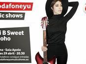 Vodafone Music Show: Anni Sweet (29.Abril.2015)