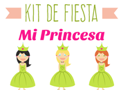 Fiesta Imprimible Infantil Princesa