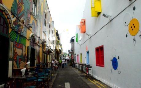 Calles de Singapur