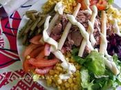 """Ensalada variada, típica """"Salade composée"""" Marruecos"""