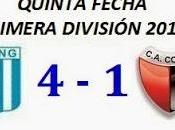 Racing Club:4 Colón:1 (Fecha