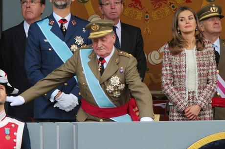 Letizia, el punto bajo de la monarquía