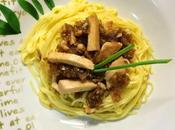 Spaghetti Bonito Cebolla Caramelizada Miel, color ojos...