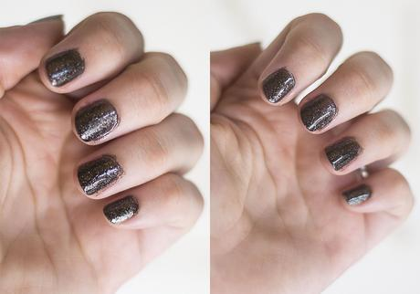 Millanel esmalte beauty diamond colors negro night