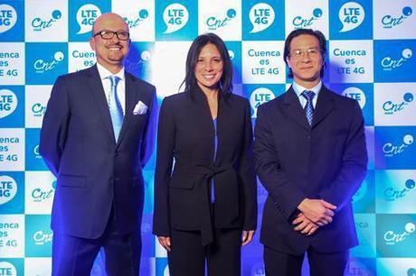 Cuenca vivió la experiencia con tecnología LTE 4G
