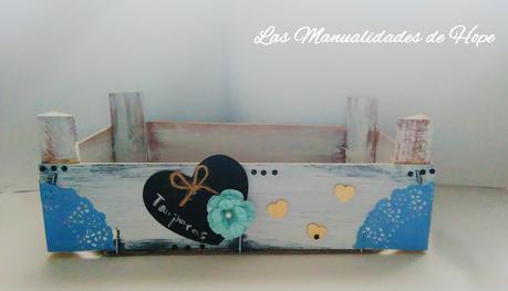 Caja de fresas decorada paperblog - Cajas de fresas decoradas paso a paso ...