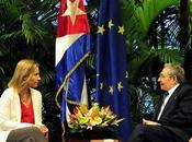 Federica Mogherini satisfecha visita Cuba