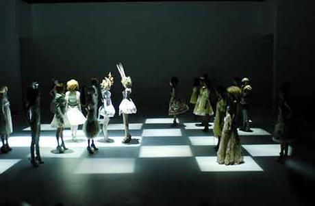 'It's only a game', Primavera/Verano 2005. Alexander McQueen.