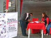 RECREO Sigue recolección firmas antimperialista