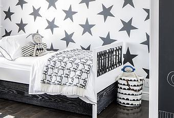 Decorar con papel pintado de estrellas paperblog for Papel pintado para decorar