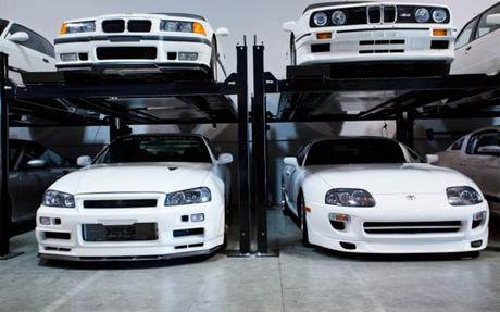 garage-Toyota-Supra-Paul-Walker
