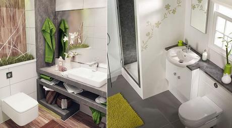 10 consejos dise o de cuarto de ba o de peque os paperblog - Diseno cuartos de bano pequenos ...