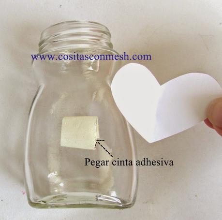 Manualidades Frascos De Vidrio Reciclados Con Corazones