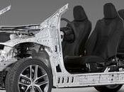 Toyota Global Architecture: Este esqueleto futuro compactos