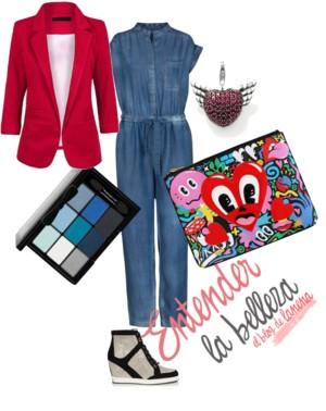 Look Denim con Mono vaquero