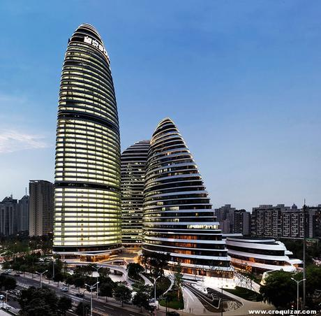 NOT-025-Zaha Hadid, Wangjing Soho en Pekín-1