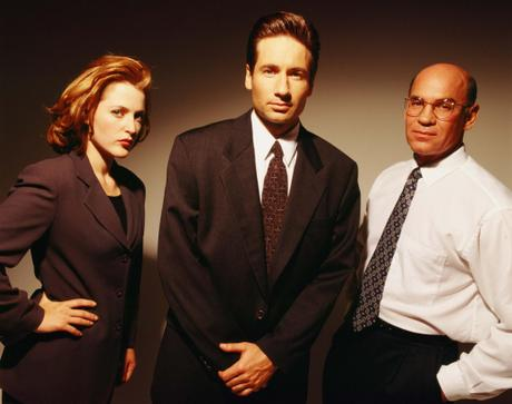 The-X-Files-Fox-Mulder-Dana-Scully-And-Skinner