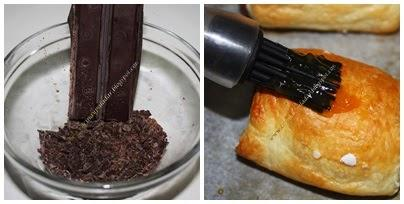 Napolitanas de chocolate a mi estilo