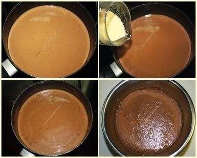 Flancotta de chocolate Milka