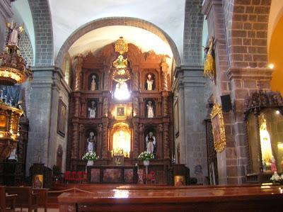 Iglesia Santo Domingo interior, Cusco, Perú, La vuelta al mundo de Asun y Ricardo, round the world, mundoporlibre.com