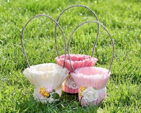 Canasta Para Huevos Manualidades.Canasta Para Huevos De Pascua Diy Paperblog