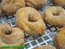 Rosquillas fritas para semana santa