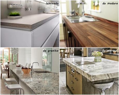 Tipos de encimeras para tu cocina paperblog for Tipos de encimeras