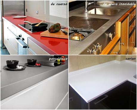 Tipos de encimeras para tu cocina paperblog - Tipos de encimera ...