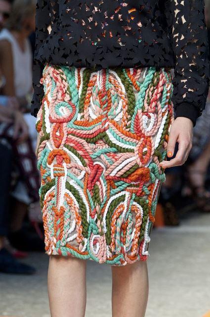 cuerda falda msgm
