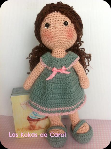 Nueva muñeca de crochet: Dina - Paperblog