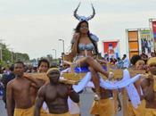 Barahona celebró carnaval 2015.