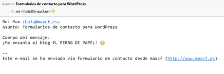 Formularios de contacto para WordPress (#WordPresteando by @maxcf)