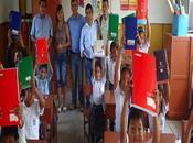 Continúa entrega kits escolares quilmaná...
