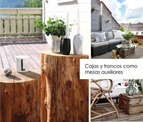 ideas para decorar reciclando en el jard n y terraza