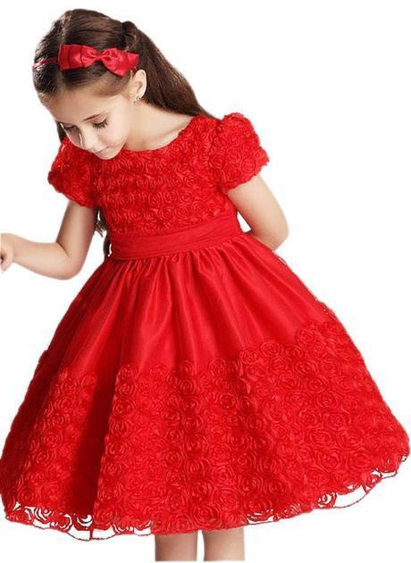 Vestidos De Fiesta Para Niñas Entregados Rápidos En Casa