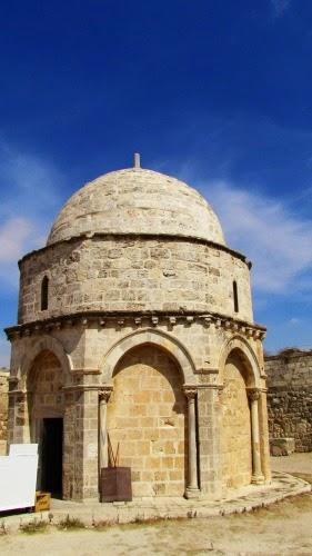 Capilla de la Ascensión del Señor. Monte de los Olivos. Jerusalén