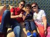 Cristiano Ronaldo refugia familia para olvidar Irina Shayk