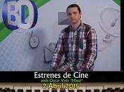 "Comarcal: Estrenes Cine, Oscar Vela ""Mastí"" 02/04/2015"