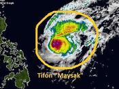 "tifón ""Maysak"" pierde mucha intensidad camino norte Filipinas"