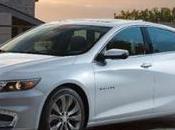 Chevy Malibu 2016, renovado grandes tecnologías