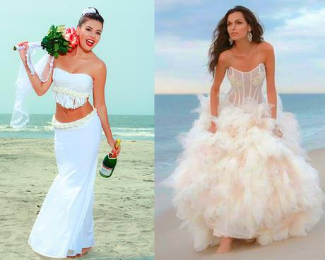 909305cf79 Como Elegir Vestidos para Bodas en la Playa Perfectos - Paperblog