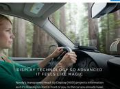 ¡Impactante! Algo parecido Google Glass, pero para automóvil.