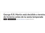 George Martin está decidido terminar Vientos Invierno