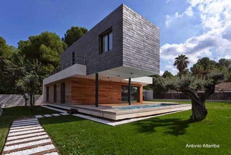 Casas modernas y contempor neas en espa a paperblog - Casa de campo valencia ...