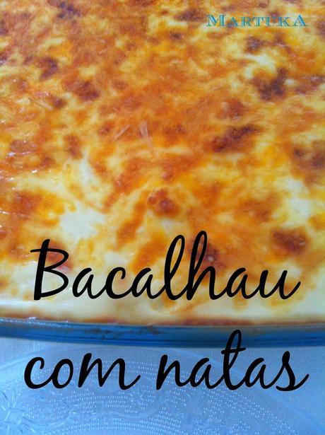 Bacalao con nata receta portuguesa bacalhau com natas - Bechamel con nata para cocinar ...