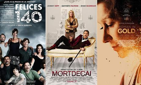 estrenos cartelera 10 abril 2015 Cartelera de cine: estrenos 10 de abril de 2015
