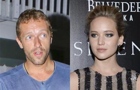 Chris Martin y Jennifer Lawrence