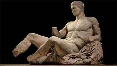 Escultura realizada por Fidias perteneciente al pedestal este del Partenón