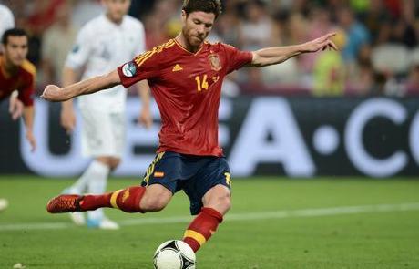 Xabi Alonso Selección Española