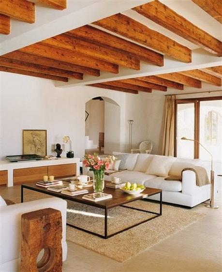 Decorar una vivienda con techos de madera paperblog for Figuras para decorar techos